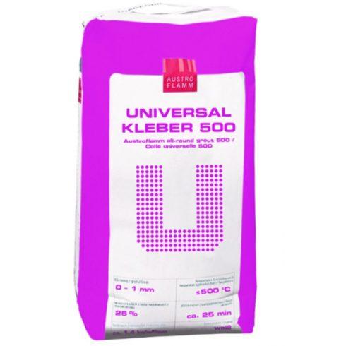 Austroflamm Universalkleber 500 - univerzális alap-, fehér színű fedővakolat és ragasztóhabarcs 20kg / zsák