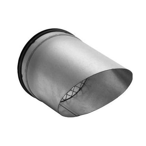 Beömlőnyílás horganyzott acélból DN  160 mm - AVU
