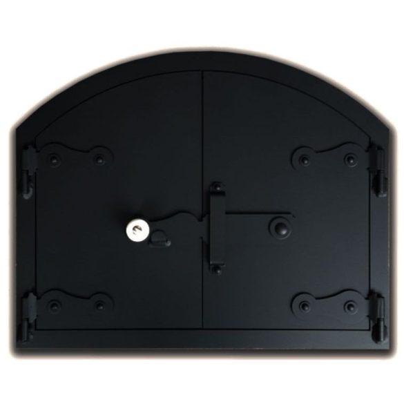 Kemence ajtó 50x40 cm, tévővel