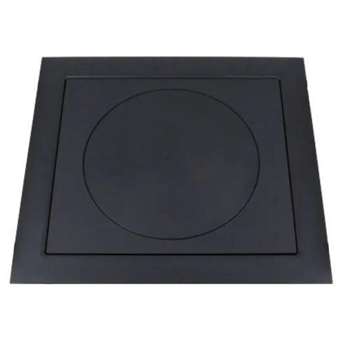Platni lemez kerettel 66x60 cm 40 cm-es karikával