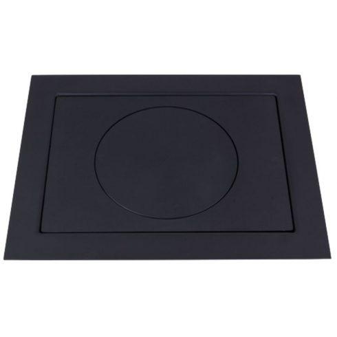 Platni lemez kerettel 66x52 cm 30 cm-es karikával