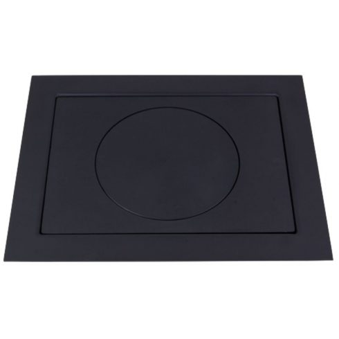 Öntvény platni lemez kerettel 66x52 cm 30 cm-es karikával