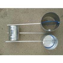 Légtömör zárású pillangószelep hosszított tengellyel, hőálló, D 160 mm