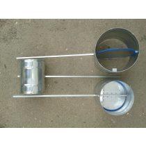Légtömör zárású pillangószelep hosszított tengellyel, hőálló, D 200 mm