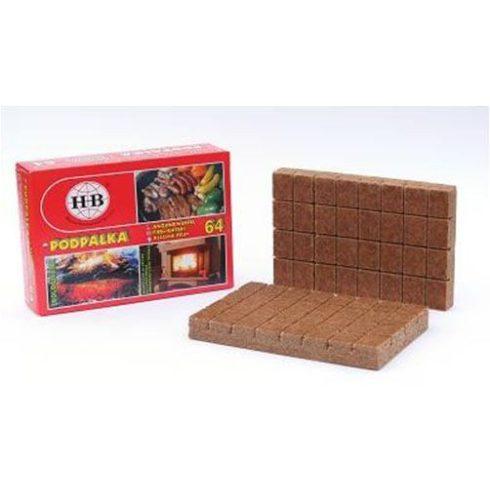 Alágyújtós, begyújtó kocka 64 db-os