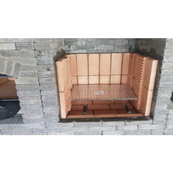 Samott tégla grillező építéséhez