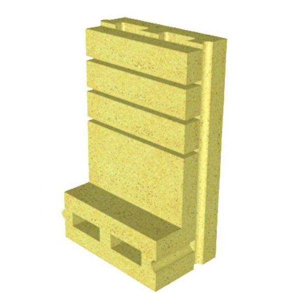 Kandern intelligens ökotűztér idom 600x250x80 mm - a legköltséghatékonyabb megoldás.