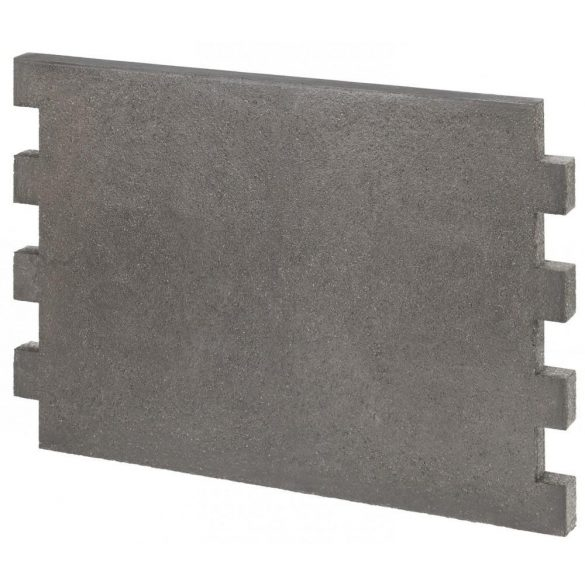 Hafnertec KSS falépítő hőtároló lap 600x400x30 mm - fogazott