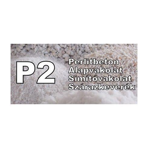 Duzzasztott perlit P2  0-1,6 mm 100 l zsákban - könnyűbetonhoz