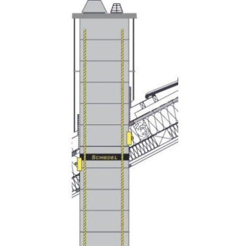 Statikai megerősítő készlet 2 m kinyúlásig - más méretben is