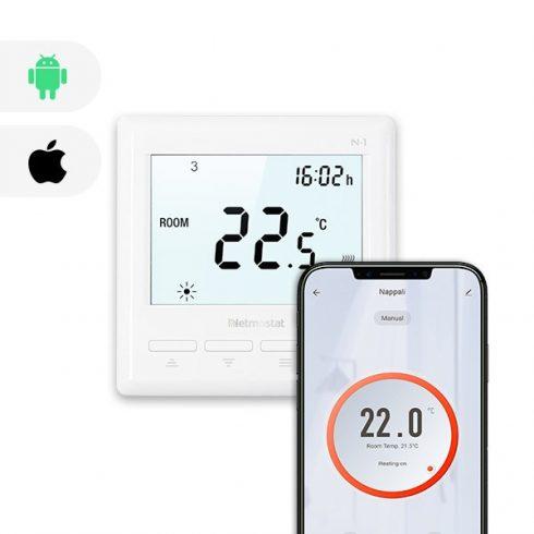 BVF Netmostat N-1 wifi termosztát + 3m padlószenzor