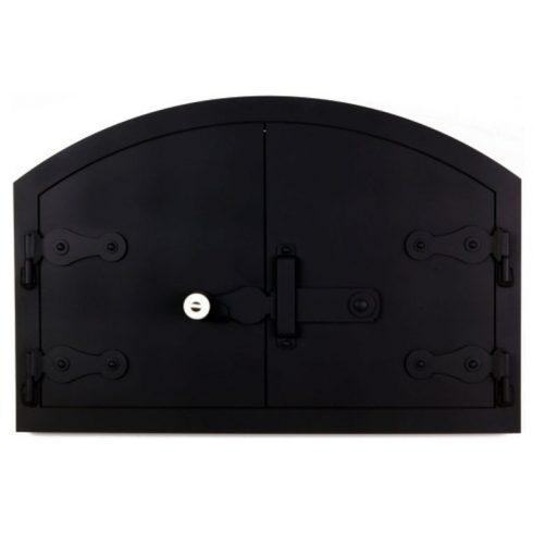 Kemence ajtó íves 60x40 cm, tévővel