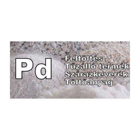 Duzzasztott perlit Pd  0-3 mm 100 l zsákban - feltöltéshez